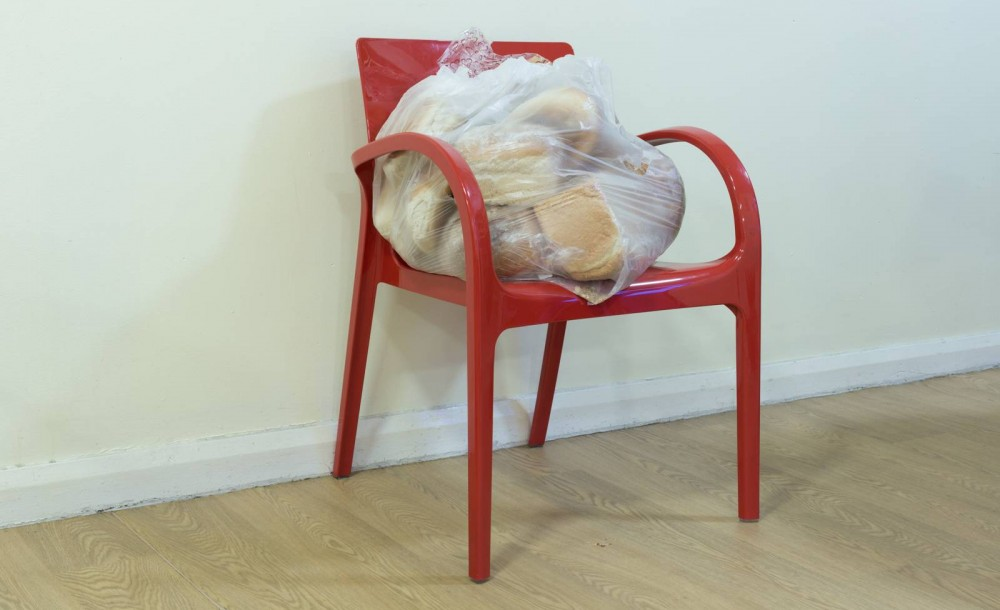 Bread Donation. Photographer Tony Mallon