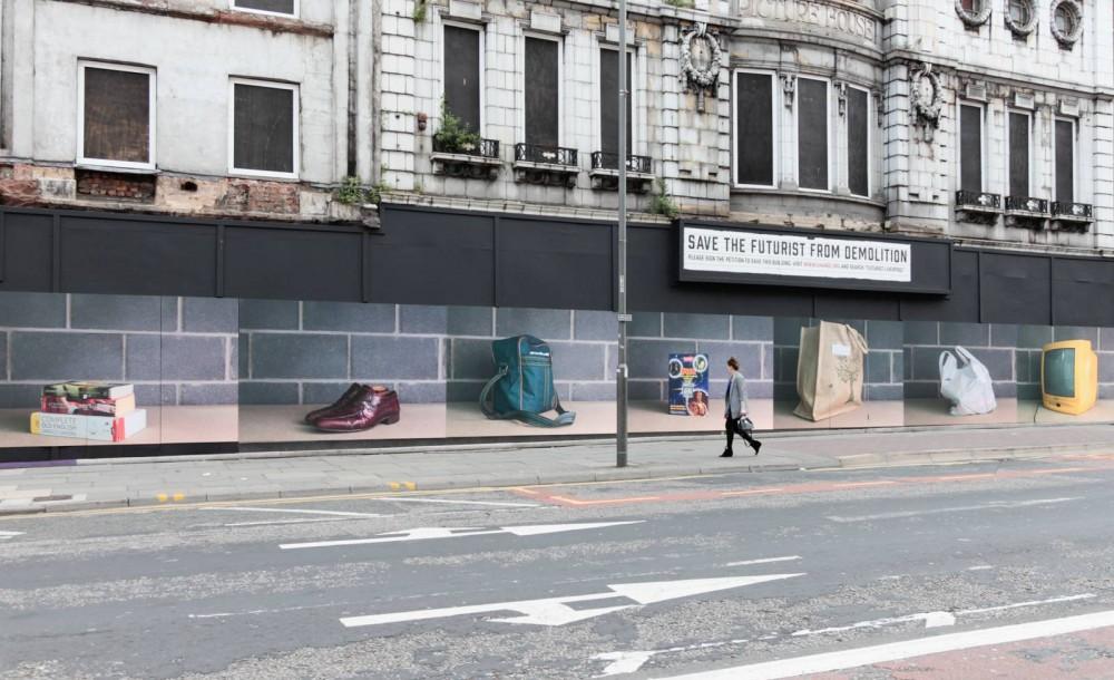 Homeless - Public Realm Artwork. Photographer Tony Mallon