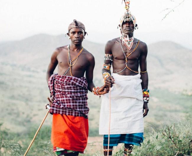 Samburu Warriors, Milgis Trust, Kenya. 2015.