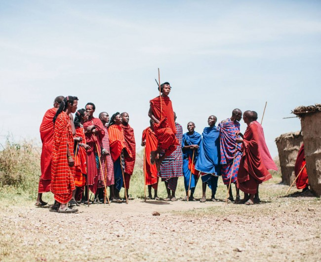 © Alexander Mourant 'Masai Warriors, Tanzania. 2015'