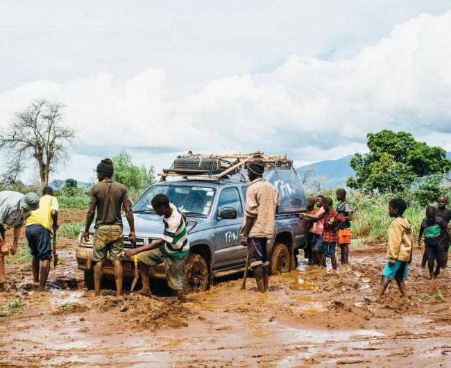 Stuck in Africa, Malawi. 2016