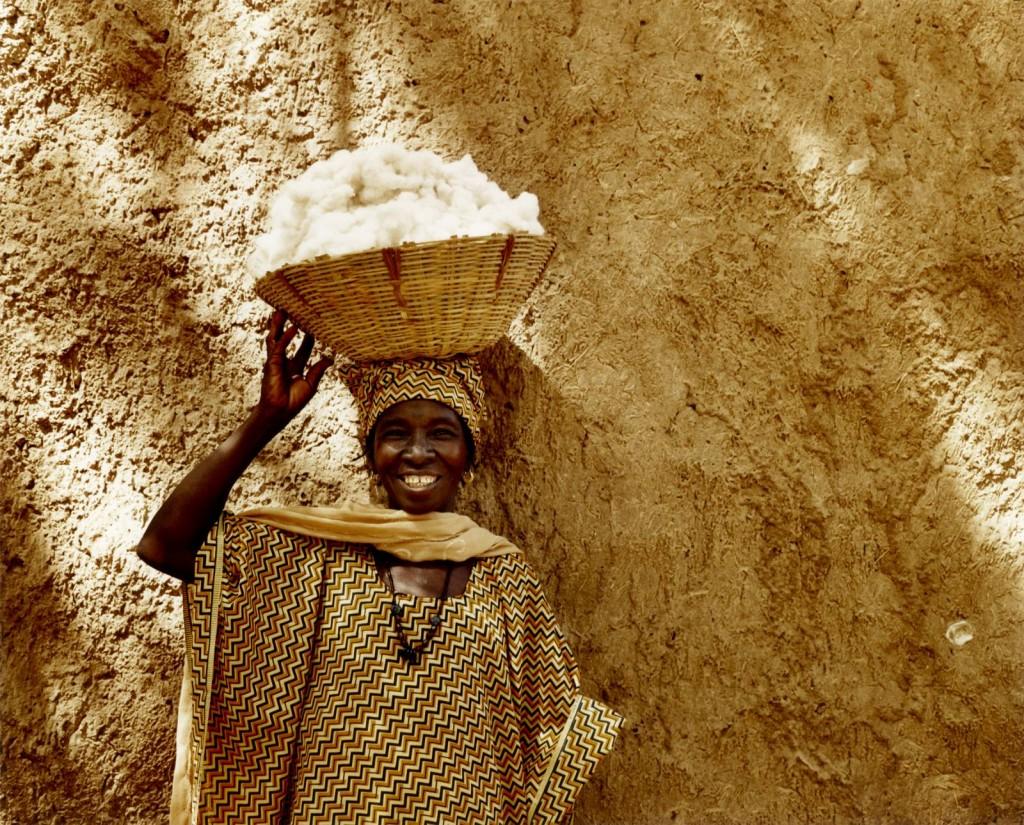 © Lottie Davies 'Fairtrade cotton-grower in Kita, Mali (2007)'