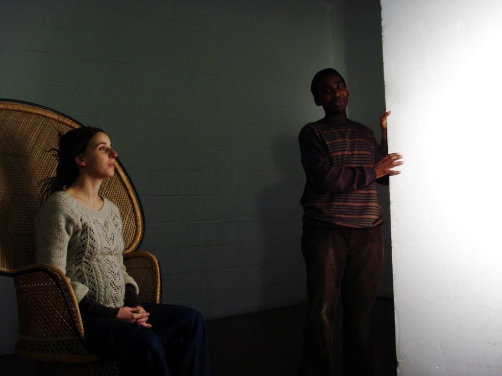 Androgyny series: Backstage