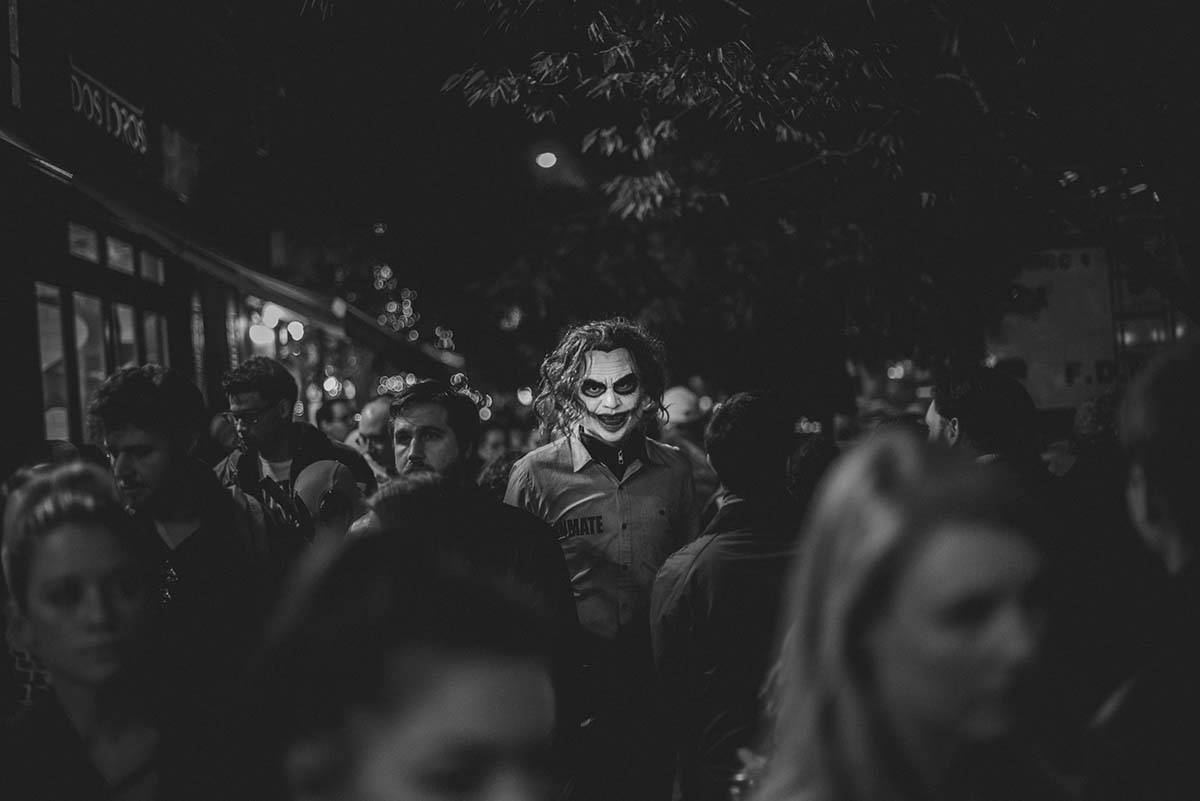 'Halloween Protagonists' by Constantinos Sofikitis, Greece, Winner, Open, Street Photography, 2017 Sony World Photography Awards