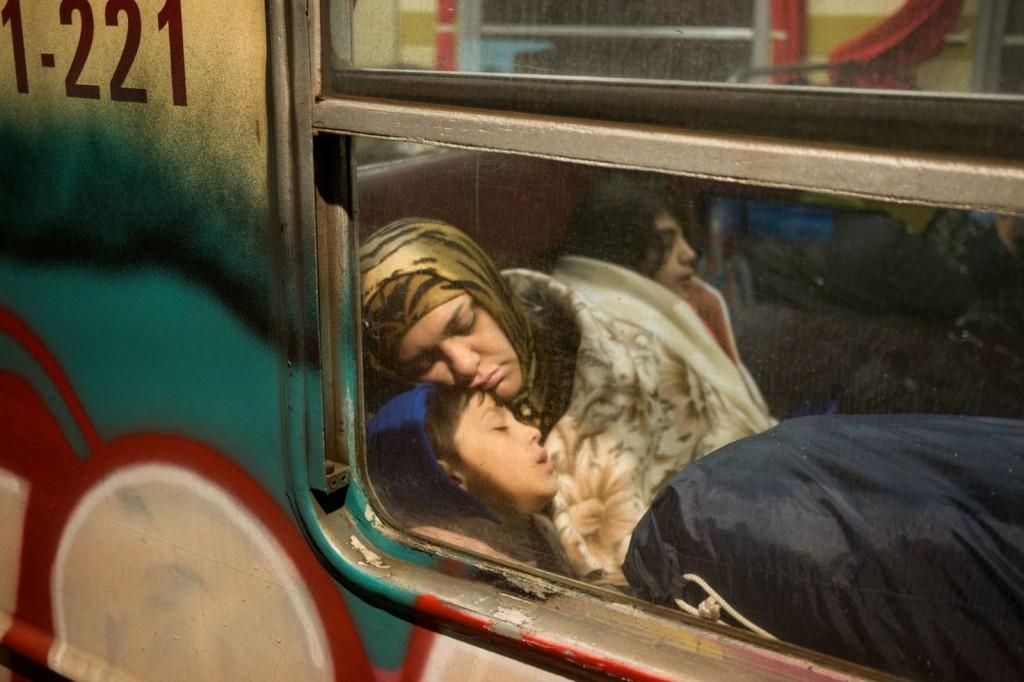 SLOVENIA. 2015. Refugee crisis. ICRC © Thomas Dworzak/ Magnum Photos