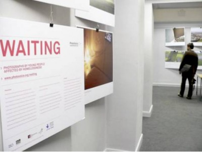 Waiting Exhibition – Central Library, Edinburgh © Kate Watson 2011 | PhotoVoice | Fairbridge | 'Waiting' | UK