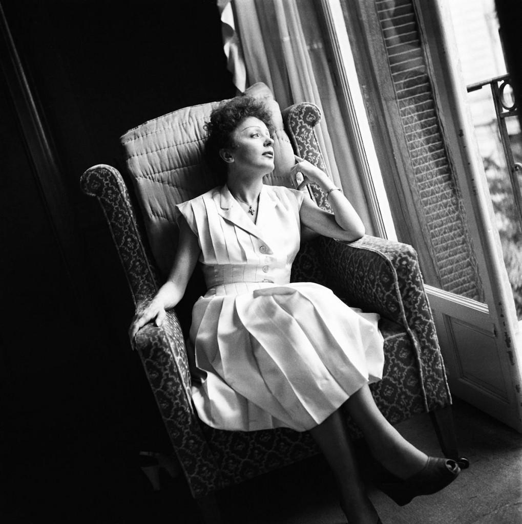 Edith Piaf 1950 © Marilyn Stafford